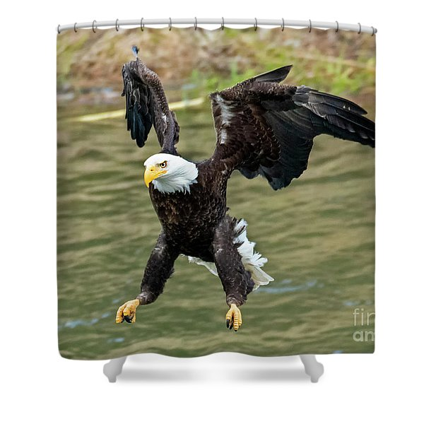 Gear Down Shower Curtain