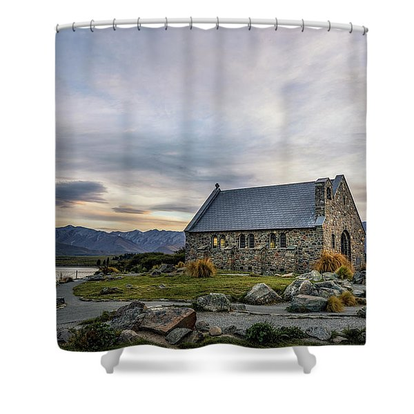 Tekapo - New Zealand Shower Curtain