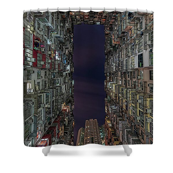 The Montane Mansion Shower Curtain