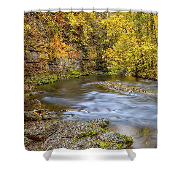 The Wutach Gorge Shower Curtain