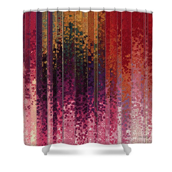 1 Timothy 6 12. Lay Hold On Eternal Life Shower Curtain
