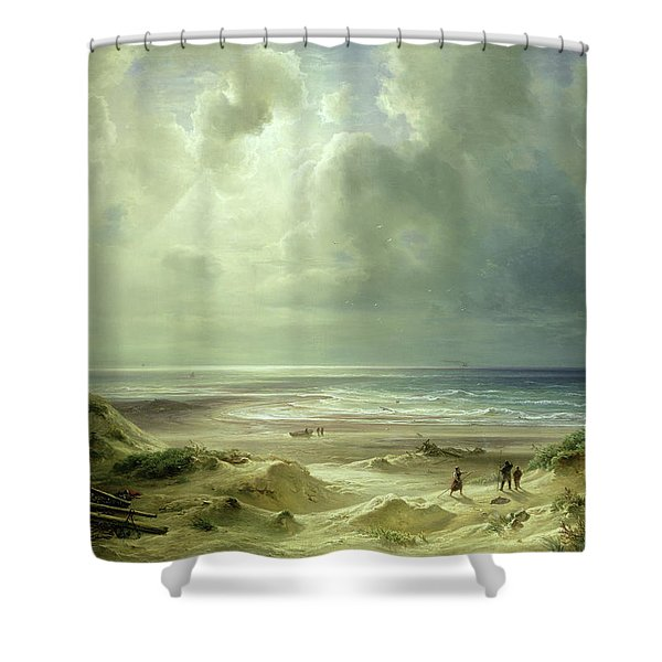 Tranquil Sea Shower Curtain
