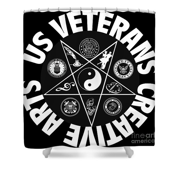 U.s. Veterans Creative Arts Shower Curtain