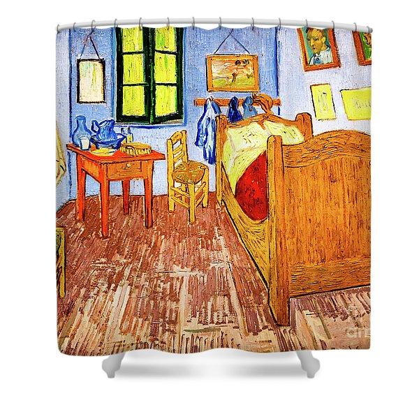 Van Gogh's Bedroom Shower Curtain