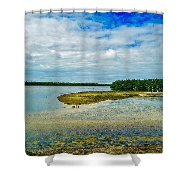 Wildlife Refuge On Sanibel Island Shower Curtain