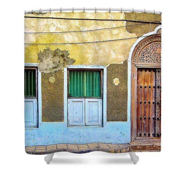 Zanzibar Doorway Shower Curtain