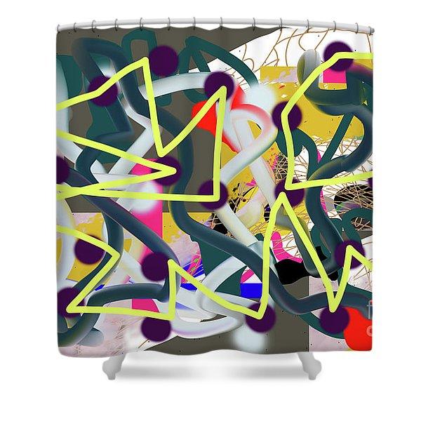 11-10-2018abcdefghijklmno Shower Curtain