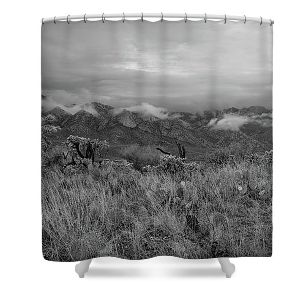 12-26-18 Snow Storm Shower Curtain