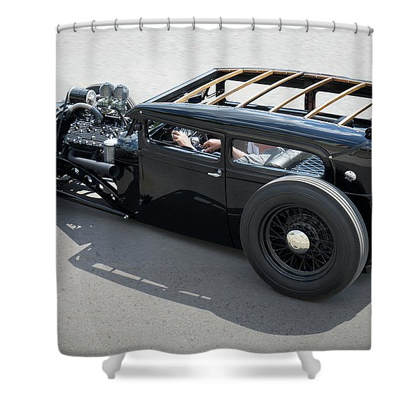 1929 Ford Low Street Rod Shower Curtain