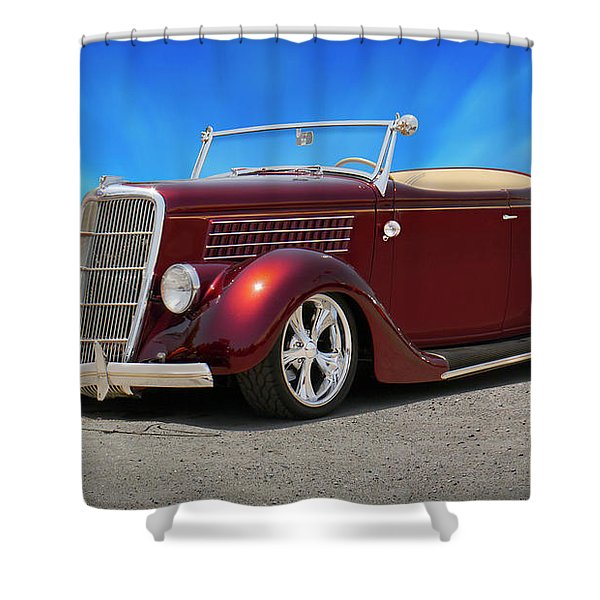 1935 Ford Roadster Shower Curtain