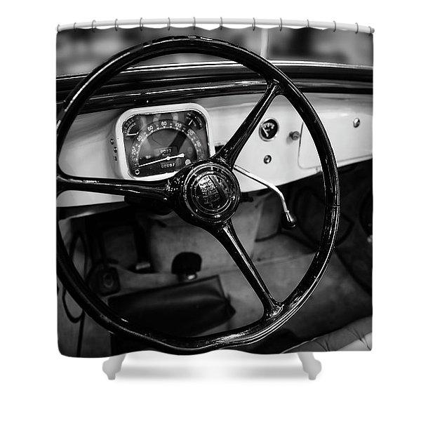 1936 Citroen Roadster Shower Curtain