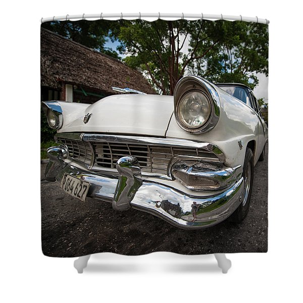1953 Cuba Classic Shower Curtain