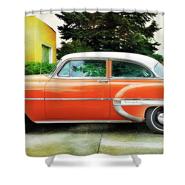 1954 Belair Chevrolet 2 Shower Curtain