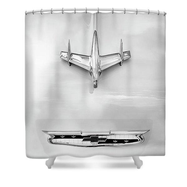 1955 Chevrolet Bel Air A017 Shower Curtain