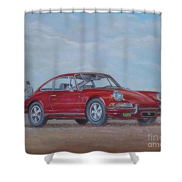 1968 Porsche 911 2.0 S Shower Curtain