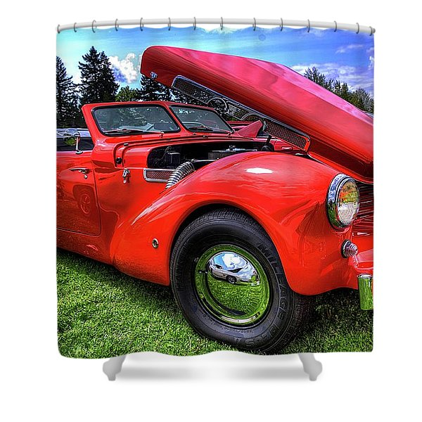 1969 Cord Automobile Shower Curtain