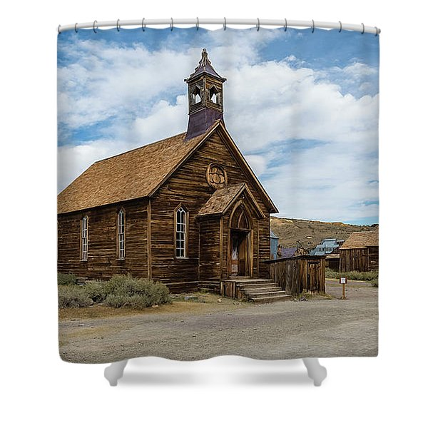Bodie Church Shower Curtain