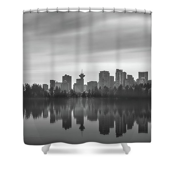 Downtown Vancouver Shower Curtain