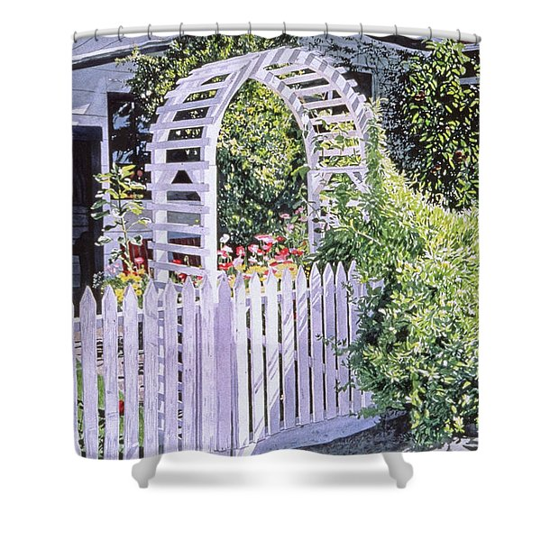 Early Summer Evening Shower Curtain