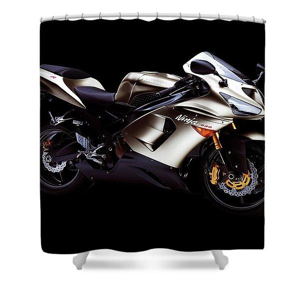 Kawasaki Ninja Zx-14 Shower Curtain