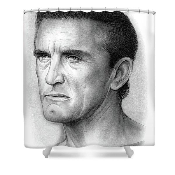 Kirk Douglas Shower Curtain