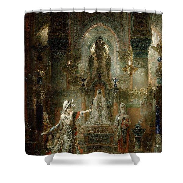 Salome Dancing Before Herod Shower Curtain