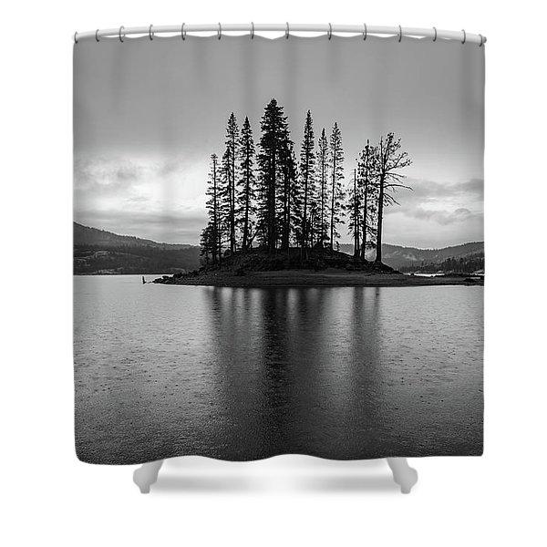 Silver Lake Shower Curtain