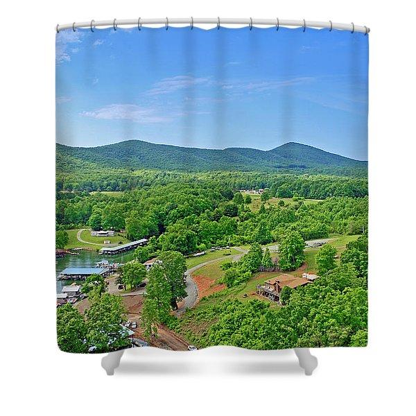 Smith Mountain Lake, Va. Shower Curtain