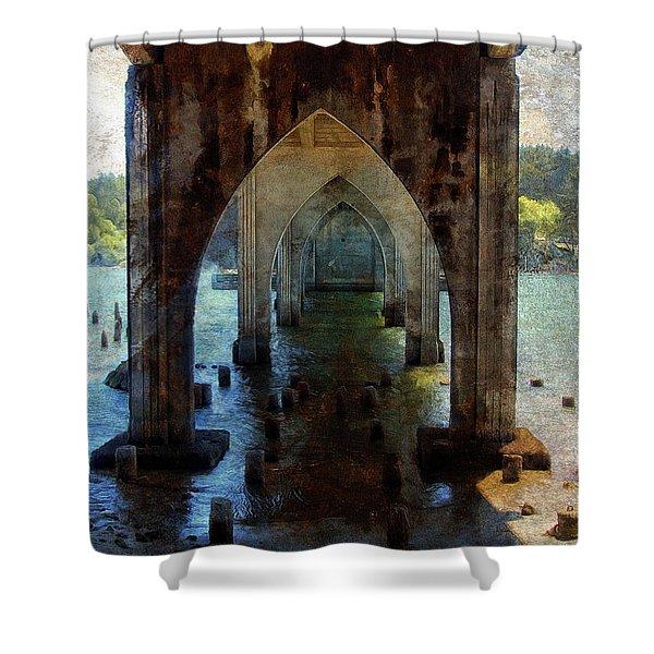 Under The Bridge Shower Curtain