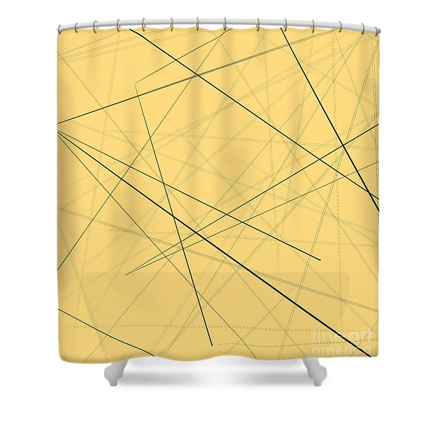 Untitled, 2019, Drawing Shower Curtain