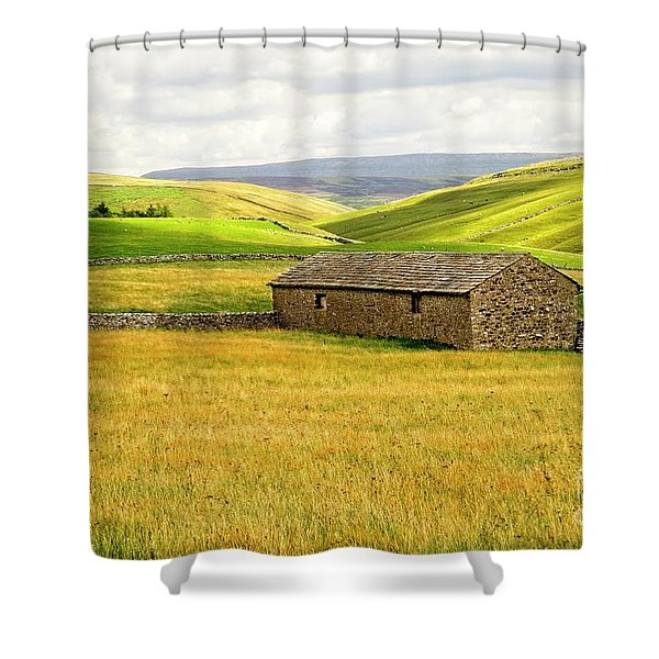 Yorkshire Dales Landscape Shower Curtain