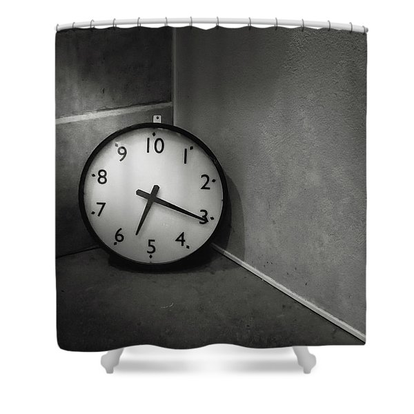 Shower Curtain featuring the photograph 20 Hours Day by Juan Contreras