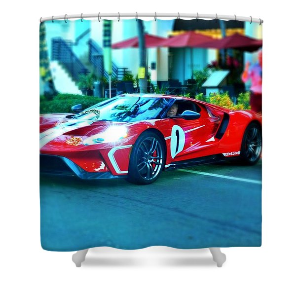 2018 Ford Heritage Gt Shower Curtain