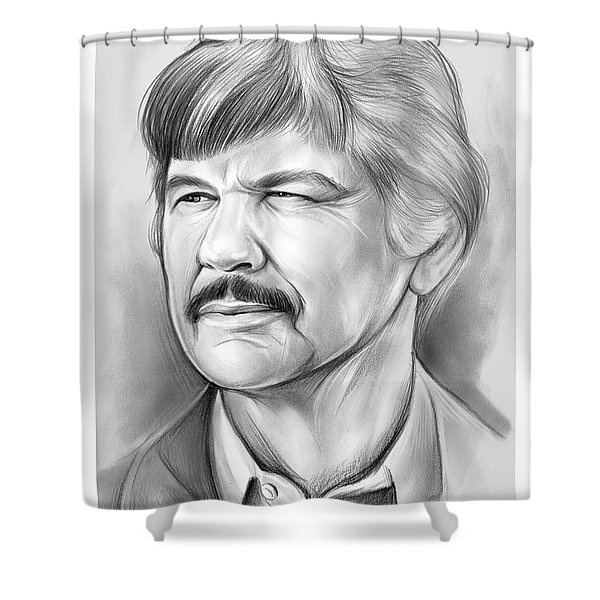 Charles Bronson Shower Curtain