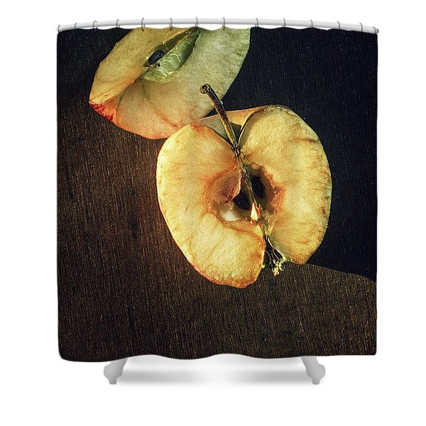 Drying Apple Shower Curtain