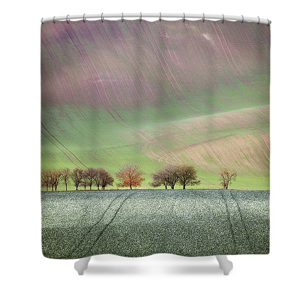 Autumn In South Moravia 3 Shower Curtain