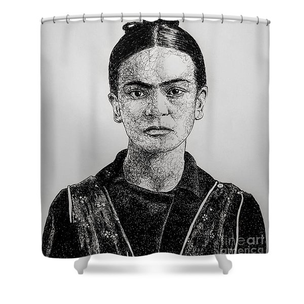 Frida Shower Curtain