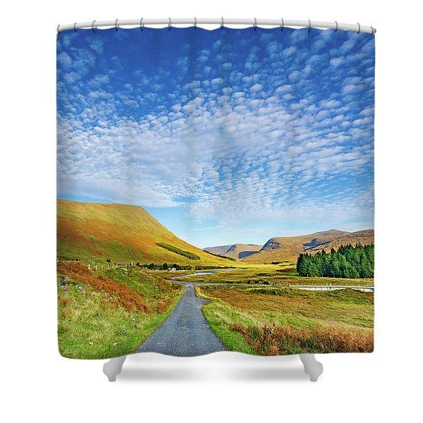 Glen Lyon Shower Curtain