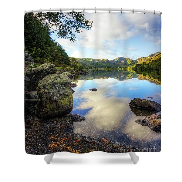 Llyn Crafnant Shower Curtain