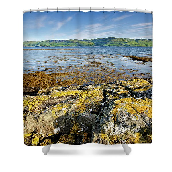 Loch Na Keal Shower Curtain