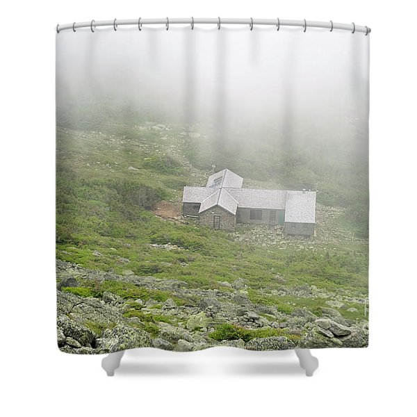 Shower Curtain featuring the photograph Madison Spring Hut - White Mountains New Hampshire  by Erin Paul Donovan