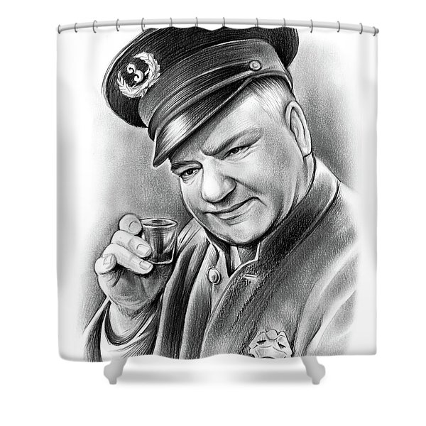 Wc Fields Shower Curtain