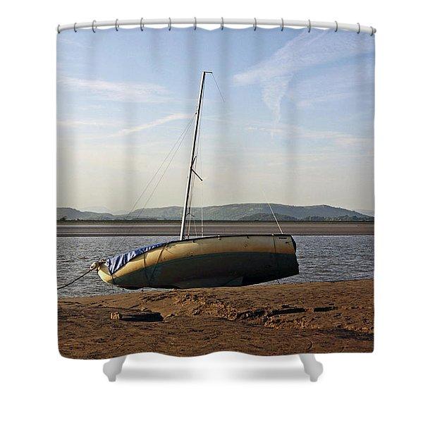 31/05/14 Cumbria. Arnside. Shower Curtain