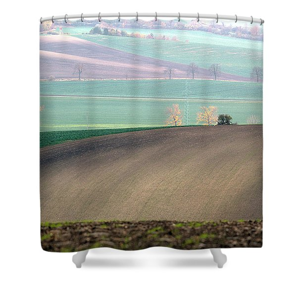 Autumn In South Moravia 5 Shower Curtain