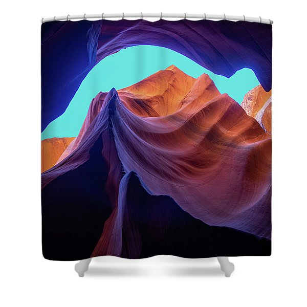 The Body's Earth  Shower Curtain