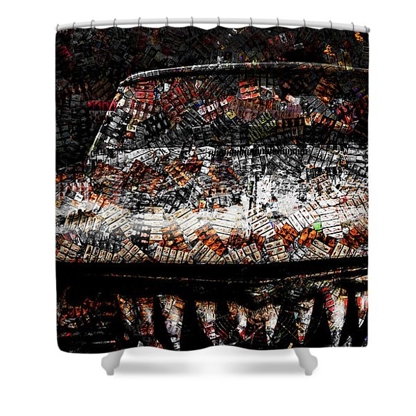 40 Years And Mean Teeth Shower Curtain