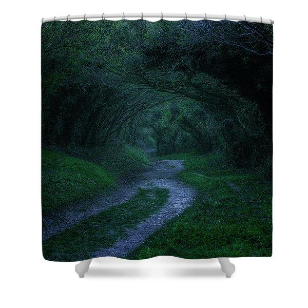 Halnaker - England Shower Curtain