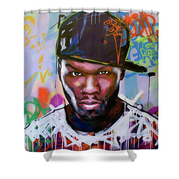 50 Cent Shower Curtain