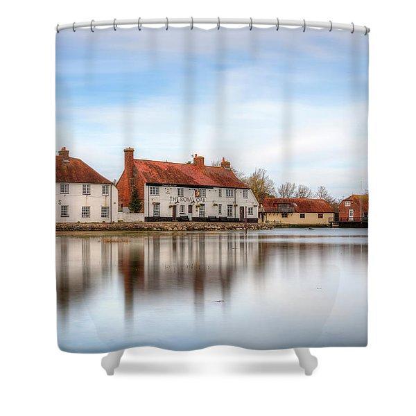 Langstone Mill - England Shower Curtain