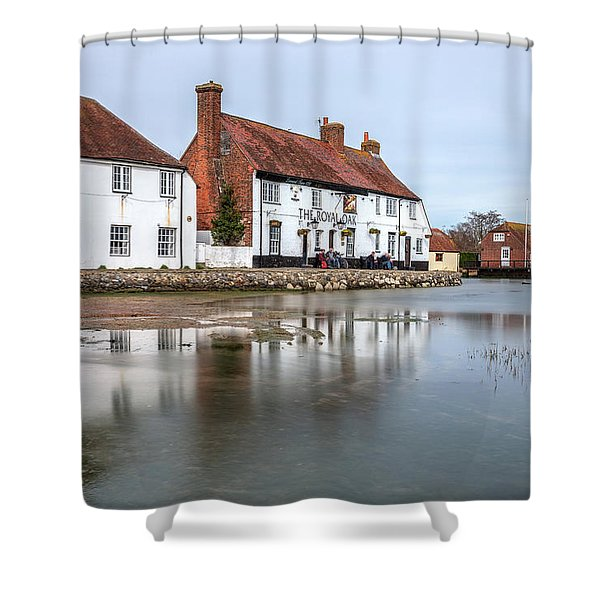 Langstone Mill - England Shower Curtain
